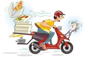 Les livreurs de Pizza
