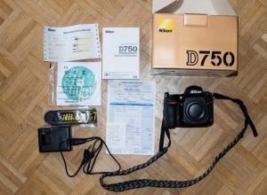 Nikon d750 neuf en bon etat