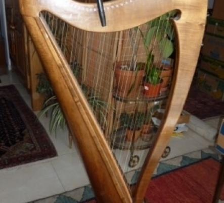 harpe Renaissance à louer