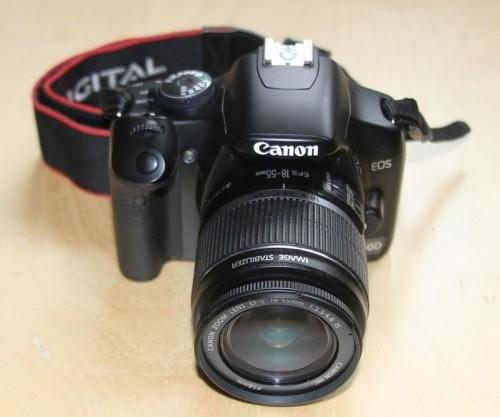 Canon EOS 450D avec objectif EF-S 18-55m