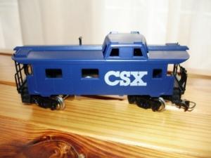 1 set HO de 3 wagons américains CSX