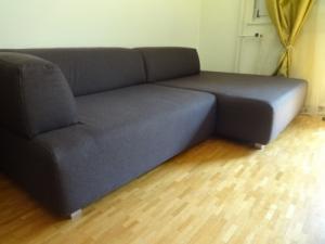 Canapé brun Interio 2012