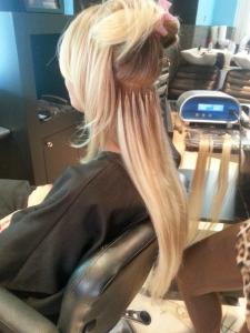 Vente d'extension de cheveux