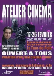 Atelier de création Cinéma