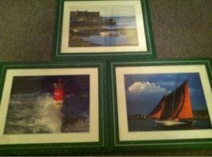 A vendre : 3 petits tableaux