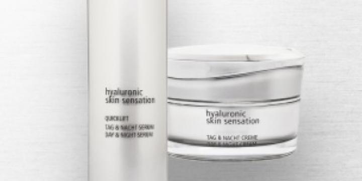 Produit de beauté - acide hyaluronique