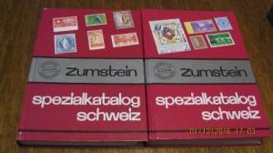 Catalogue spécial  Zumstein des timbres
