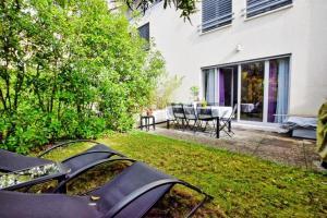 Appartement duplex 5P  avec jardin