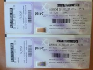Paléo Festival 2015 : dimanche