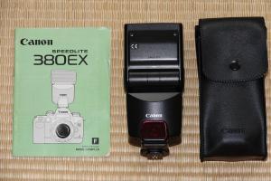 Flash Canon Speedlight 380EX