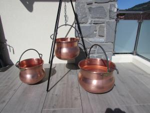 CHAUDRON en Cuivre 20 - 30 - 40 -litres fait Artisanal
