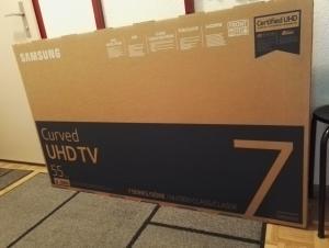 TV SAMSUNG UE55NU7370 - LCD/LED incurvée NEUVE