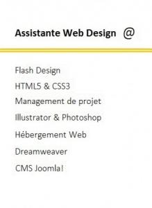 Assistante en Web Design