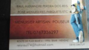 Menuisier Artisan Pouseur