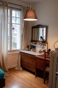 Chambre dans maison avec jardin à Fribourg (centre)