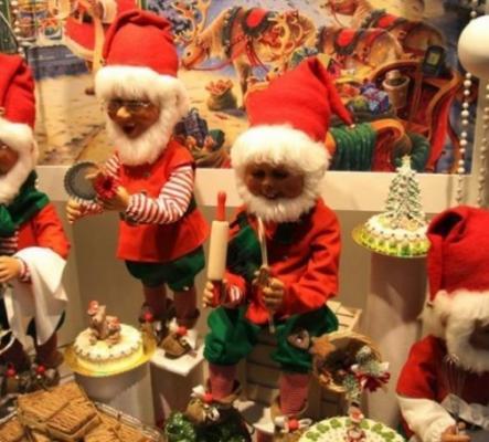 Les animateurs pour la  foire de Noël