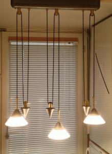 Suspension 3 lampes réglables