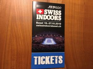 Billets VIP de SWISS INDOORS 2 Final 27.10.