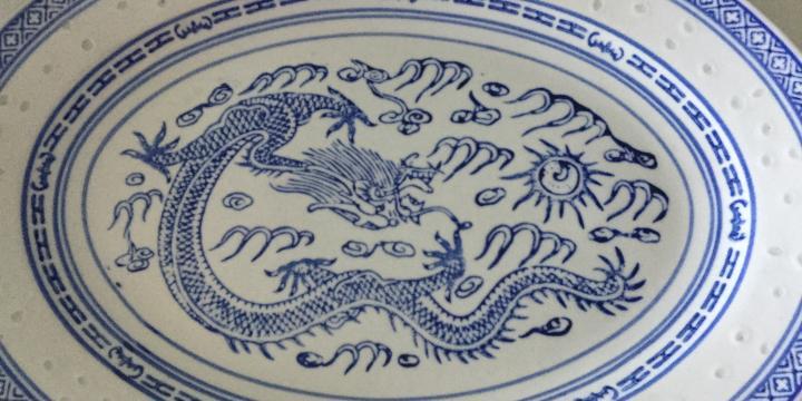 Lot de vaisselle chinoise