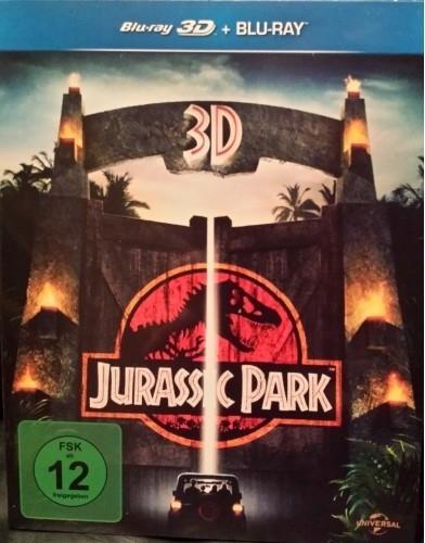 "Blu Ray et 3D -- "" Jurassic Parc """
