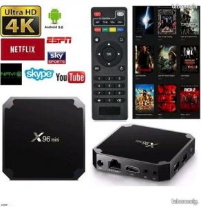 Smart TV box android X96 mini Wi-Fi 4K.Neuve