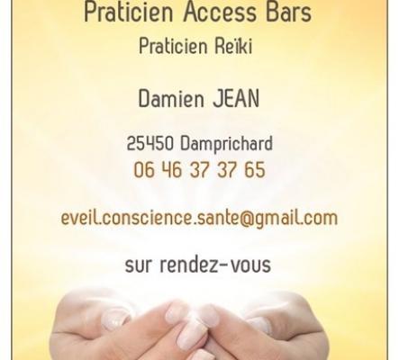 Soin énergétique Access Bars + Reîki