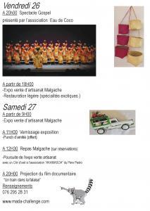 MADAGASCAR  en couleur à MORAT / MURTEN