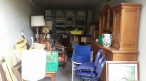 Garage à débarrasser / objets de brocant