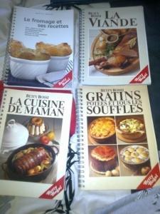 Livres de cuisine de Betty Bossi