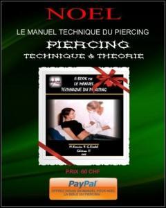 """Formation Piercing"""" Le manuel Technique"""""""
