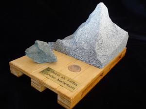 Le Cervin en maquette de pierre - Matterhorn - Il Cervino