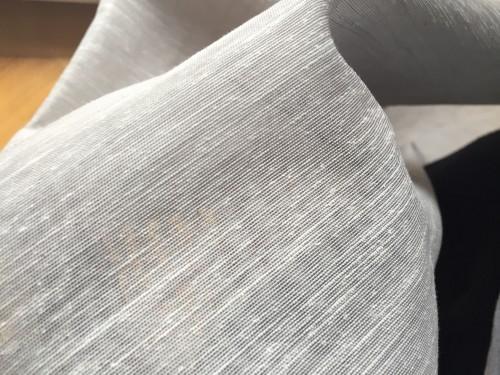 Rideaux de couleur gris