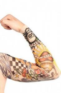 Manches faux tatouage fashion