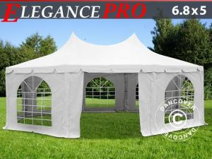 Achtkantiges Partyzelt Elegance PRO 6,8x5m, PVC