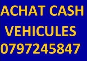Achat cash de véhicules toute marque