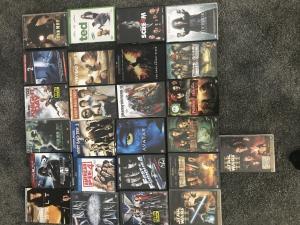 divers DVDs
