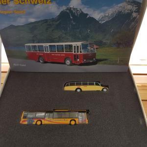 Arwico Swiss Line Set Grindelwald - Spiez Bus postal 1:87