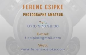 Photographe amateur recherche contrats