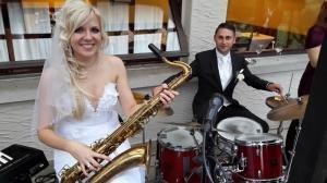 Mariage La CAPITAINE BEGNINS ORCHESTRE JAZZ BAND