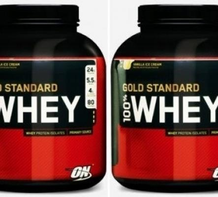 Duo de 100% Whey Gold Standard de Optimu