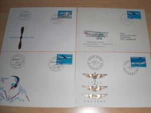 Enveloppes Poste-Aériennes