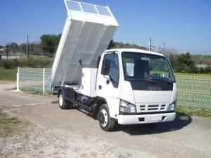 Camion benne acier jpm isuzu
