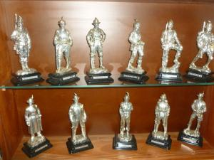 collection de figurines militares