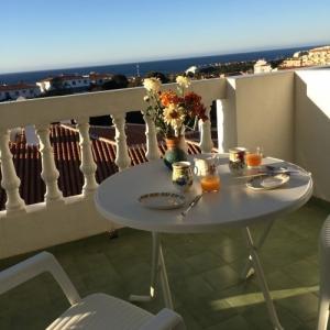 Vacances en Espagne vue sur la mer
