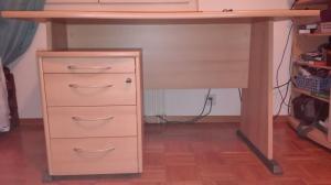 Bureau et caisson