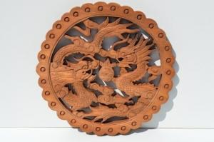 Un Dragon japonais murale