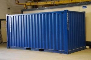 Offre de conteneurs maritimes en stockages