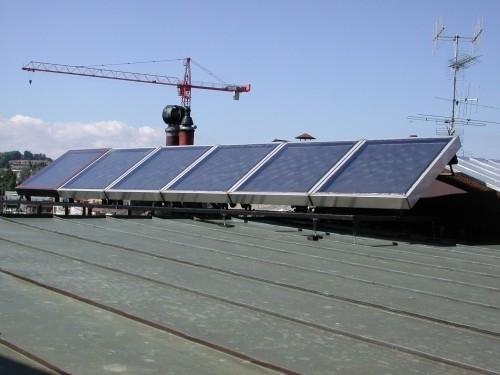 Panneaux solaires thermiques 6m²
