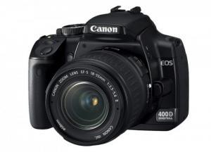 Canon EOS 400D avec objectif EF-S 18-55m