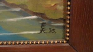 Jolie Huile peinte par un détenu